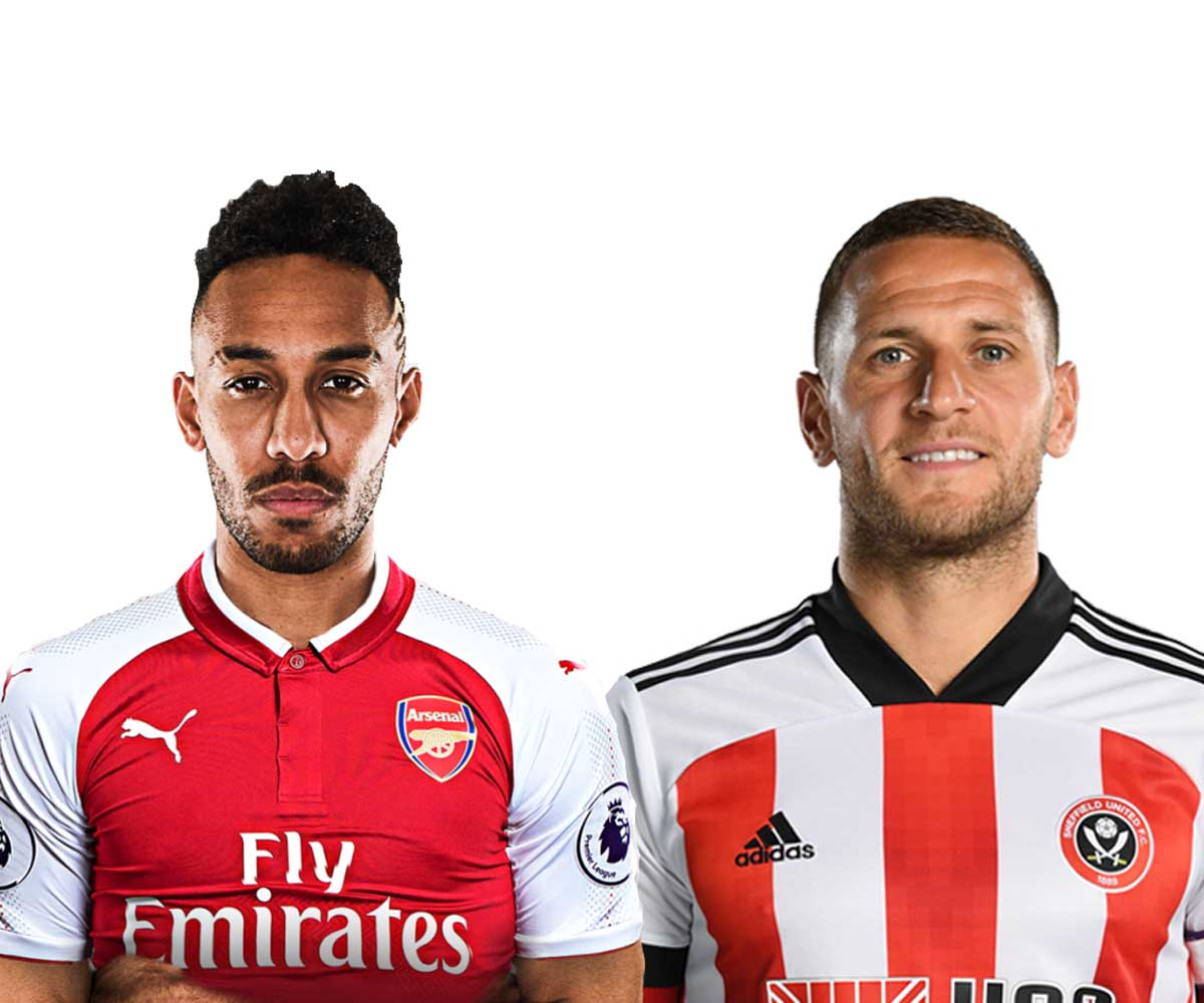 Gunners play host to Sheffield United at the Emirates on Sunday